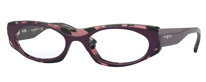 VIOLET TORTOISE BROWN
